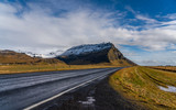 Road with mountain