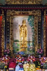 Kuan Yim Shrine in Chinatown Bangkok