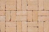 Pavement stone, cobblestone,  paving stone textured background - 229567793