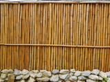 bamboo wooden wall background