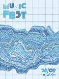 Music festival cover background. - 229599716