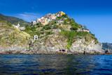 View of Corniglia, Cinque Terre, Italy - 229602123