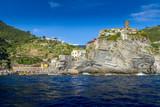 Vernazza and the Doria Castle, Cinque Terre, Italy - 229602131