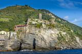 Vernazza and the Doria Castle, Cinque Terre, Italy - 229602133