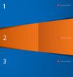 Modern Blue Orange Design Template