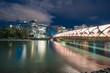 Quadro Calgary, Alberta City Skyline and Peace Bridge