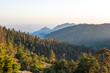 Sunset Rock viewpoint in Sequoia National Park, California