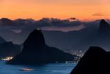 Rio de Janeiro Mountain View at Dusk - 229641132