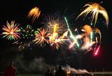 Feuerwerk am Meer - 229645192