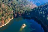 Synevir lake autumn colors - 229688795