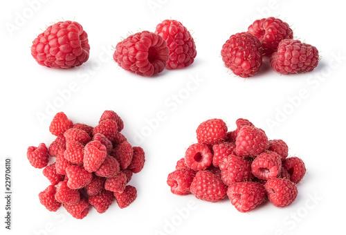 Leinwandbild Motiv raspberry