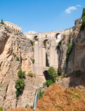 Roman bridge of four arches located in the town of Ronda in the Spanish province of Malaga