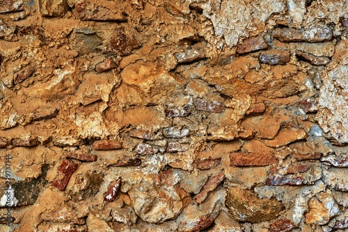 rough abstract stone texture closeup for a background - 229737144