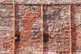 alte Ziegelsteinmauer, Ziegelsteine