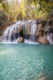 Vertical Erawan waterfall