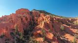 Red Canyon, Utah. Amazing aerial view