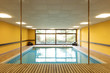 Private swimming pool in a building