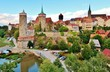 canvas print picture - Bautzen, Historische Altstadt
