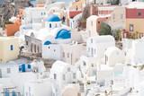 Traditional decoration element in Oia village, Santorini island, Greece - 229762942