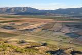 Paysage Andalousie Espagne vue aérienne