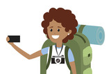 Young backpacker tourist - 229783756