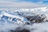 Tatry zimą, widok z Kasprowego Wierchu