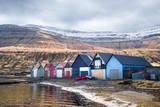 Cabane pêcheur Îles Féroé - Faroe Islands - 229816368