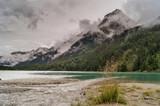 Panorama del lago di Anterselva dopo un temporale estivo - 229817503