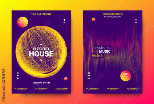 Electronic Music Poster Concept.
