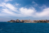 The historic town of Corfu island, Greece, under a glorious sky - 229866590