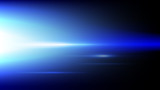 Abstract blue light and shade creative technology background. Vector illustration. - 229890118
