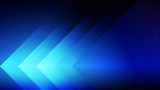 Abstract blue light and shade creative technology background. Vector illustration. - 229890731