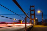 Die Golden Gate Bridge bei Nacht