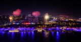 Neujahr in China mit Feuerwerk - 229905778