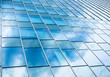 Glass Facade Architecture details Modern Building Exterior Sky Reflection