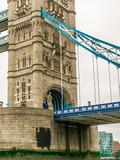 Tower Bridge, iconic victorian bridge through the Thames River