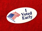 I voted early sticker - 229950110