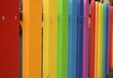 Fototapeta Rainbow - Kolorowy płot © Urszula