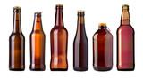 beer bottle isolated - 229976716