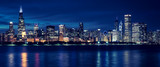 Chicago skyline by night - 229981964