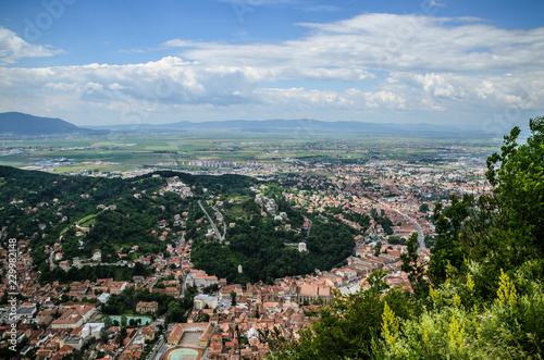 Look over Brasov / Romania - 229982148