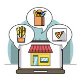 Restaurant and delivery - 229993122