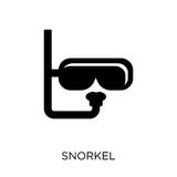 Snorkel icon. Snorkel symbol design from Summer collection. - 230011905