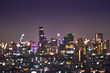 abstract light cityscape bokeh background - 230020391