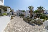 Naoussa village houses - Cyclades island - Paros - Greece - 230046929