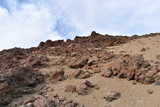 Hiking trail to the big famous volcano Pico del Teide in Tenerife, Europe - 230049944