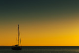 Yacht on sea water surface - 230051151