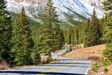 Highway in Colorado Rocky Mountains