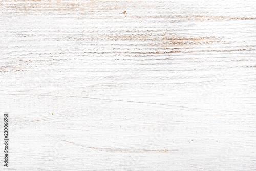 Fototapeta White wooden texture, floor pattern