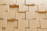 Shipping boxes ready for delivery, 3d render illustration - 230067982